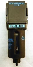 """WILKERSON F08-02-SK00 Pneumatic Compressed Air Filter 1/4"""""""