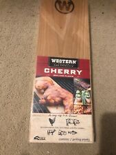 Western Bbq Products Cherry Grilling Planks for Seafood Chicken Pork Nip