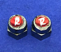 Original 1970's PAIR OF COTTER PIN 'R' NUTS,FOR RALEIGH Chopper MK1 MK2 Sport