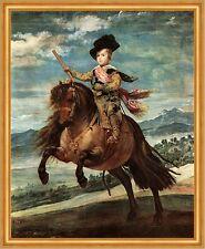 Reiterbildnis del príncipe Baltasar Carlos Diego Velazquez caballo LW h a2 0422
