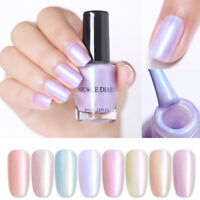 NICOLE DIARY 6ml Pearl Nail Polish Pink Water Based Nail Art Varnish