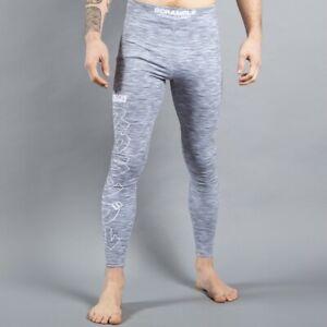 Scramble Brand Base Pants Compression Grappling Tights BJJ MMA Jiu Jitsu L NWOT