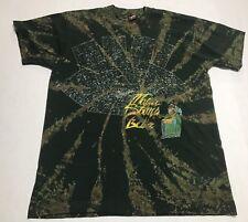 Vintage 80s Fruit Of The Loom Multicolor Paint Splash Graphic T Shirt Size L