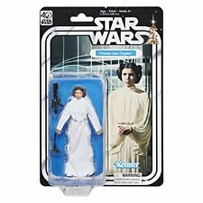Star Wars The Black Series 40th Anniversary Princess Leia Organa 5.25 Inch
