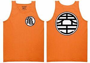Dragon Ball Z Goku Kame Symbol Dbz Anime Adult Tank Top