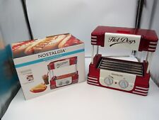 Nostalgia 50's Style Hot Dog Roller Cooker w/ Bun Warmer