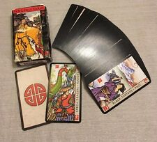 c2001 Feng Shui Tarot Deck Cards with Box fortune telling collectible OOP