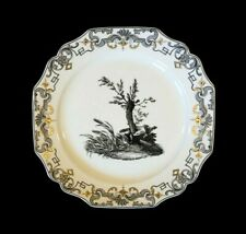 Beautiful Mottahedeh Du Paquier Vista Alegre, 1730 - 1740, Fox Plate