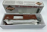 Proto 2000 HO 50' Automobile Box Car Lehigh Valley LV 8582 With End Doors