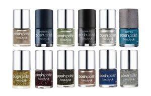 Beauty UK Posh Polish Nail Varnish Glitter Shimmer Sparkle Lacquer Nail Art Gel