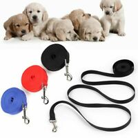 Solid Color Puppy Kitten Pet Leash Dog Cat Lead Wire Walking Harness Nylon Rope