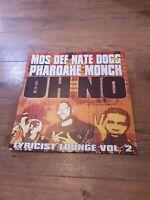MOS DEF Nate Dogg Pharoahe Monch Oh No Lyraicist Lounge Vol. 2 Vinyl