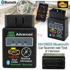 ODB2 OBDII Car Diagnostic Scanner Code Reader ELM327 Bluetooth For Android