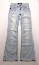 A305 Angels Jeans Low Rise Boho Trouser Flare Super Stretch sz 5 (Mea 26x31)