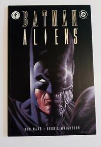 BATMAN / ALIENS 1 DARK HORSE DC GRAPHIC NOVEL COMIC BOOK Sci-Fi Movie CIRCA 1997