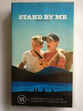 STAND BY ME ~ RIVER PHOENIX~ JERRY O'CONNELL~ COREY FELDMAN ~ RARE VHS VIDEO