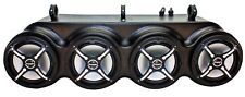 "Froghead Ind. Bluetooth Sound Bar (4) 8"" Bazooka speakers for POLARIS RANGER 800"