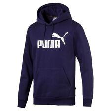 Puma Ess Hoody FL Big Logo Peacoat XL