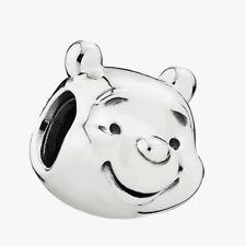 Authentic Pandora Charm Winnie-The-Pooh Disney Portrait W/ Pandora TAG 791566