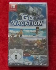 Go Vacation, Nintendo Switch Spiel Neu, deutsche Version