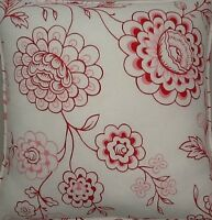 A 16 Inch Cushion cover in Laura Ashley Stencil Rasp fabric