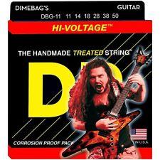 DR Hi-Voltage DIMEBAG DARRELL Signature Electric Guitar Strings Heavy DBG-11