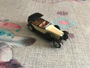 Voiture Miniature Hispano Suiza H6B 1926 Solido 1/43
