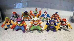 Vintage 1991 Wild West COWboys of Moo Mesa Lot of 10 Hasbro Action Figures