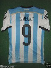 Argentina U-20 Simeone Match Worn Shirt , Sudamericano Sub 20