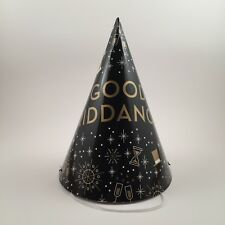 100 New Year's Eve party hats Gatsby paper cone hat NYE 2019 years Good Riddance