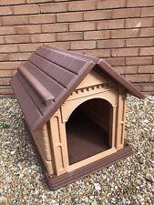 Outdoor Dog Kennel Winter Shelter Plastic Animal brown