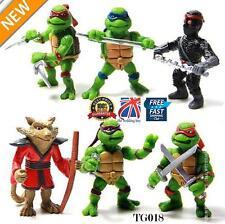 6Pcs Teenage Mutant Ninja Turtles Action Figures Collection Toys Set Gift TG018