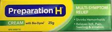 25MG Preparation H Cream with Bio Dyne (only in CANADA) Multi Symptom+ WRINKLES