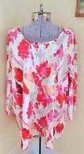 Women's Plus Size 2X Salon Studio Shirt Top Blouse
