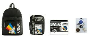 PRIMARK NASA Backpack Crossbody Bag Messenger Purse Pins Official BNWT