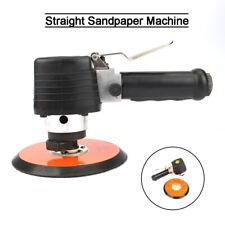 6 Air Random Orbital Palm Sander Straight Pneumatic Polisher Tool For Auto Body