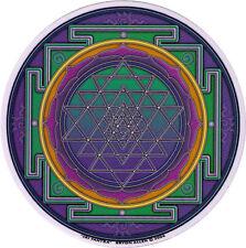 Sri Yantra - Spiritual Window Art Sticker / Decal