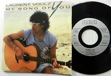 """LAURENT VOULZY My Song Of You PIC SLEEVE 7"""" France #S60"""