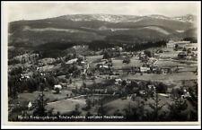 HAIN bei Podgórzyn Riesengebirge Schlesien ~1930 Totalansicht v.d. Heusteien