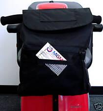 Power Scooter Deluxe Tiller Basket Bag B4221