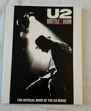 U2 Rattle And Hum Official Book Of The Movie