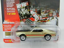 2017 Johnny Lightning *MUSCLE CARS USA HOT ROD 2A* GOLD 1969 Ford Mustang Mach 1