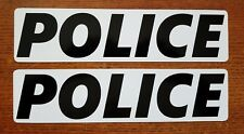 POLICE MAGNETIC SIGNS personal  car truck Van SUV Police PODV