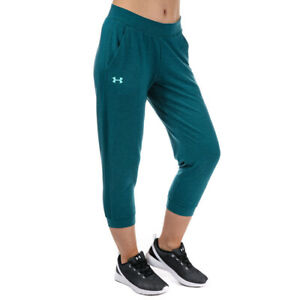 Under Armour UA Ladies Tourmaline Featherweight Fitted Fleece Crop Sports Pants