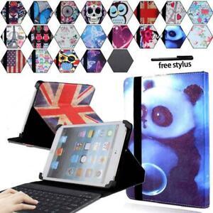 "For iPad mini 7.9""/ipad 9.7"" 10.5 Leather Stand Cover Case + Bluetooth Keyboard"