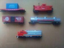 Vintage Model Power Ho Scale Train Set