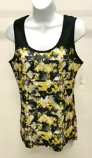 NWT Zone Pro Women's Multi-Color Abstract Active Workout Top Size: S