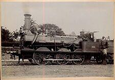 Locomotive Schneider c. 1880-90 - Chemins de Fer de l'Ouest Train - 15