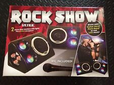 Lumisource Rock Show Venue Microphone 2 Monitors Works W Guitar Hero / Rock Band