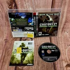 Ps3 Game Call Of Duty 4 Modern Warfare sony playstation shooter action 16+ army